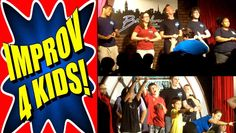 """Improv 4 Kids"" 4.3 our of 5 stars by 278 fans on GOLDSTAR.http://www.goldstar.com/events/new-york-city-ny/improv-4-kids"