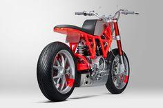 Untitled custom's Marin Ducati Scrambler.   Ducati «Custom Rumble» Competition for Dealers.