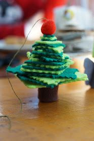 How to make little angels and tree ornaments without having any sewing skills at all!