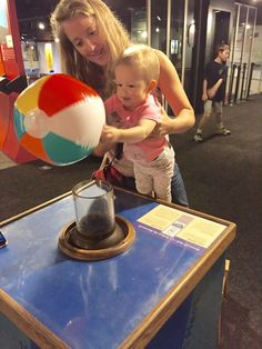 Best places for babies in SD: Reuben Fleet Science Center San Diego