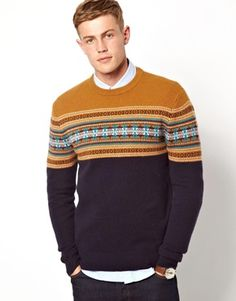 Image 1 of Jack Wills Sweater with Fairisle