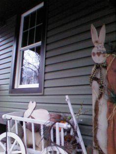 Easter goat cart