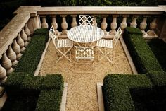 but like the idea of little framed out seating area because we dont have much exterior seating pad Outdoor Seating, Outdoor Rooms, Outdoor Dining, Outdoor Gardens, Outdoor Decor, Formal Gardens, Patio Dining, Porches, Garden Pool
