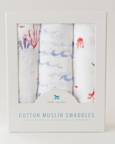 "Snuggle time available daily. A versatile design that's great for swaddling, nursing, cuddling, and more. - three 47"" x 47"" swaddling blankets - 100% cotton muslin - lightweight and breathable - softe"