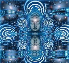 GIF+LUZ+Espiritualidade | Imagine que este líquido, ao descer, desbloqueia todos seus chacras ...