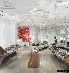Camper Shoe Shop in Washington D.C. // Benedetta Tagliabue (EMBT) | Afflante.com