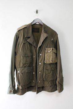 Undercover M51 Field Military Jacket + Ripstop Utility Vest Size US L / EU 52-54 / 3 - 2