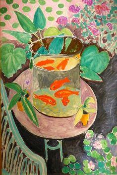 ¤ Henri Matisse 1868-1954 Poissons rouges