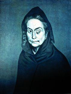 celestina.- Pablo Picasso 1904