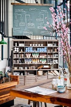 31 Coffeeshops And Cafés You Wish You Lived In Market Lane Coffee in Melbourne.
