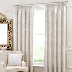 Blue Mariella Pencil Pleat Curtains Collection Dunelm Grey And White Room Rooms