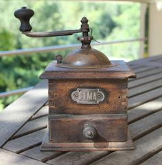 Antique Elma Spanish Coffee Grinder Late 1800's by ArtesanJewelry for $65.00