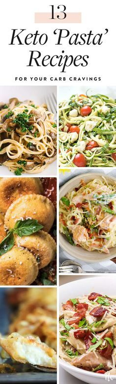 13 Keto 'Pasta' Recipes to Curb Your Carb Cravings