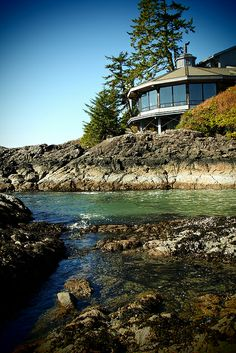 The Pointe Restaurant at Wickaninnish Inn Tofino BC Canada
