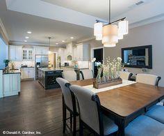 Open floor plan design from The Travis #1350!