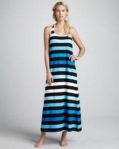 Tommy Bahama Bermuda Striped Maxi Dress - Neiman Marcus