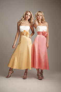 bridesmaids: like the fact it doesnt go all the way to the floor