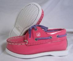 Baby Sperrys?!? Yes!