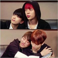 When your ships sail themselves #daejae #bap