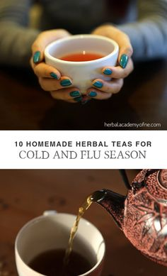 Medicinal herbal infusions, also known as herbal tea, can provide a lot of relief for many cold and flu symptoms and some herbs can even help boost your immunities to help you kick your illness to the curb faster. Shared through https://www.facebook.com/diycraftsideas