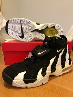 new styles e17fe 7fd14 (eBay Sponsored) New Nike Air Max DT 96 Deion Sanders White Black Penny  Diamond