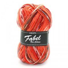 Drops Fabel Print 911 Fun Lilac
