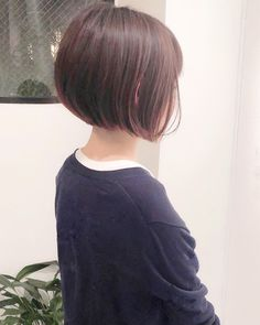 Tomboy Hairstyles, Short Bob Hairstyles, Pretty Hairstyles, Bob Styles, Short Hair Styles, Melena Bob, Brunette Bob, Hair Color And Cut, Short Hair Cuts For Women