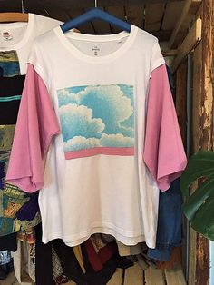 becreativespace / V oblakoch - ECO tričko Bell Sleeves, Bell Sleeve Top, Anorexia, Nasa, Tops, Women, Fashion, Moda, Women's