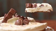 Cheesecake Kinder marmorizzata