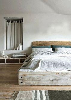 Chambre simple et nature