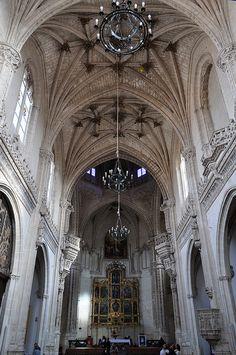 Eglise abbatiale, monastère San Juan de Los Reyes (XVe), Tolède, Castille-La…