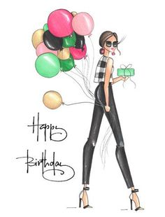Happy Birthday John Images, Funny Happy Birthday Wishes, Happy Birthday Girls, Happy Wishes, Birthday Cards For Her, Good Morning Picture, Morning Pictures, Greeting Cards, Sweet Treats