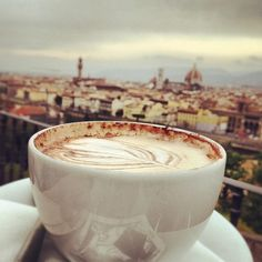 Coffee in Italy - doesn't get any better than this!