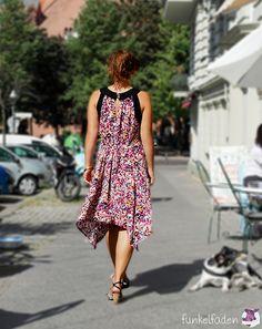 Genäht - Sommerkleid mit Knöpfen