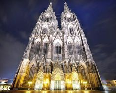 Cologne Cathedral, Germany - Dominic Kamp    I love this Cathedral and was in Cologne for 4 weeks with school, it is so beautiful, more amazing in person!