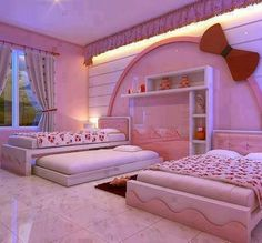 Hello Kitty Double Room