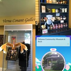 Lures have been dropped at the #oshawamuseum! So many Pokemon! Stop by and see what you can find! #Oshawa #pokemongo #pokemuseum #lakeviewpark
