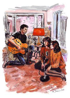 "Helena Janecic: Twin Peaks illustration - ""Just You"""