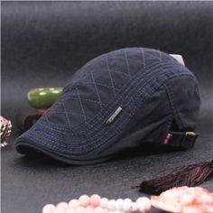 95fbe21e8 New 2017 DT599 100% Cotton Men s Gatsby Cap Newsboy Ivy Hat