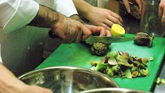 Stuffed artichokes (carciofo alla romana) recipe : SBS Food