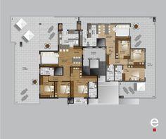 As coberturas do bloco 02 do Arpoador são incríveis. Que tal uma delas para ser sua nova casa? Emoticon wink