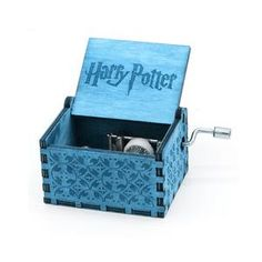 Harry Potter Music Box Game of Thrones Music Box Star Wars Wooden Hand Crank Theme Music Harry Potter Music Box, Harry Potter Games, Imagine John Lennon, Wooden Music Box, Wooden Boxes, Antique Music Box, Bf Love, Gravure Laser, Oak Stain