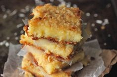 Lemon Coconut Gooey Butter Bars | Recipe Video