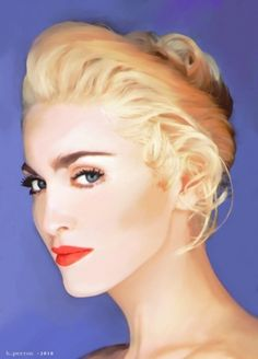 Madonna by umberto