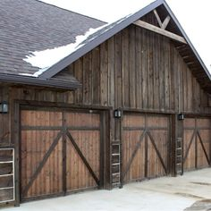 All over Montana you can find great old barns with great old board and batten siding. Douglas Fir board and batt creates a very durable siding that is easy to install and maintain.