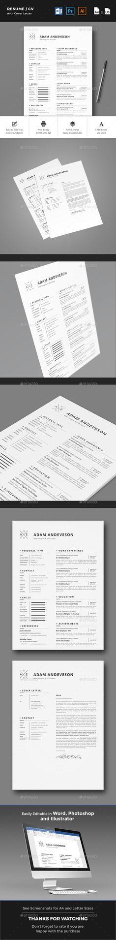 The CV   Resume Creative resume templates - resume cv definition