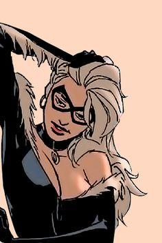 — sandsmarks: felicia hardy in daredevil – Marvel Universe Marvel Comic Character, Comic Book Characters, Marvel Characters, Marvel Heroes, Baby Black Cat, Black Cat Art, Spiderman Black Cat, Black Cat Marvel, Dc Comics Girls