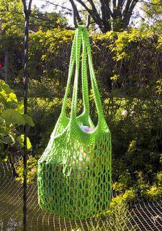 Suzies Stuff: JUNE - Go Green Market bag -  FREE PATTERN