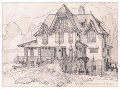 House 387 French Shingle Style by Built4ever.deviantart.com on @DeviantArt