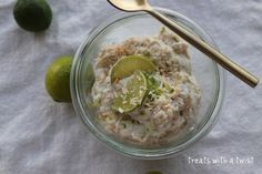 Key Lime Pie Overnight Oats - I made this last night, and they were so good!
